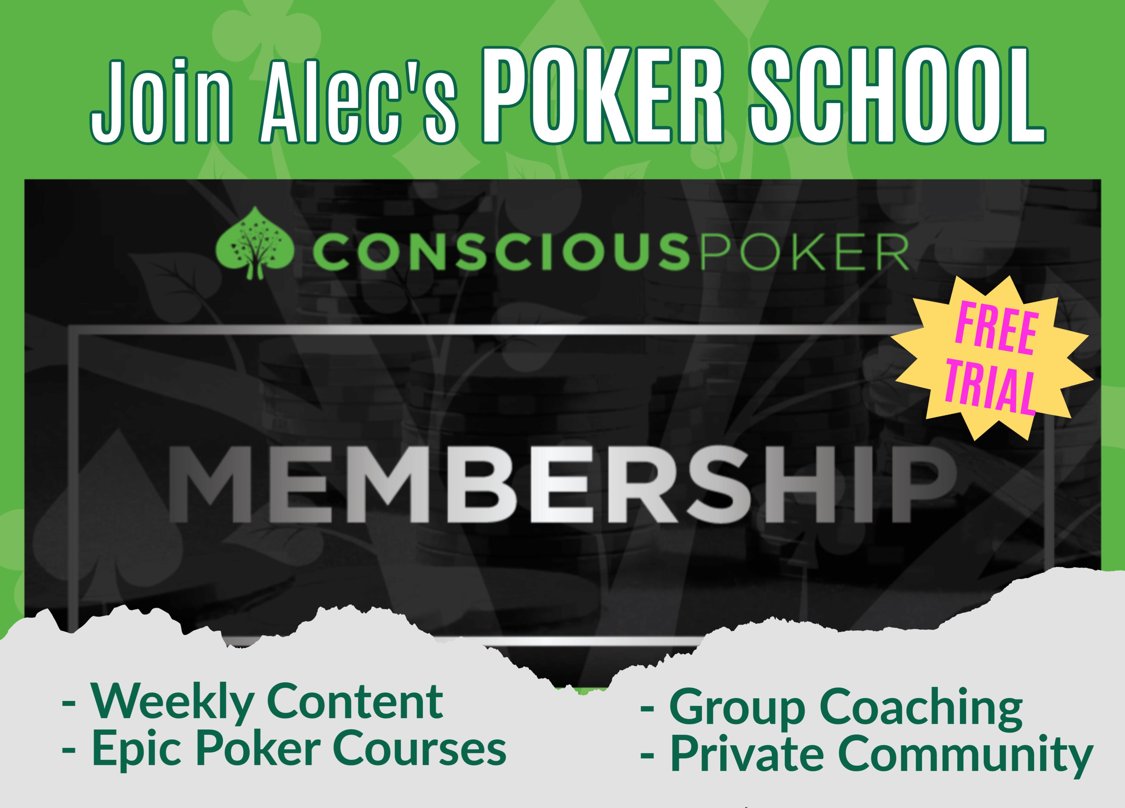 Conscious Poker Membership